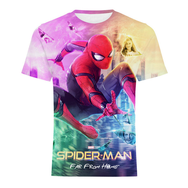 Far From Home T-shirt Spider Man Hero Shirt