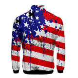 Independence Day Jacket Unisex 3D Flag Jacket