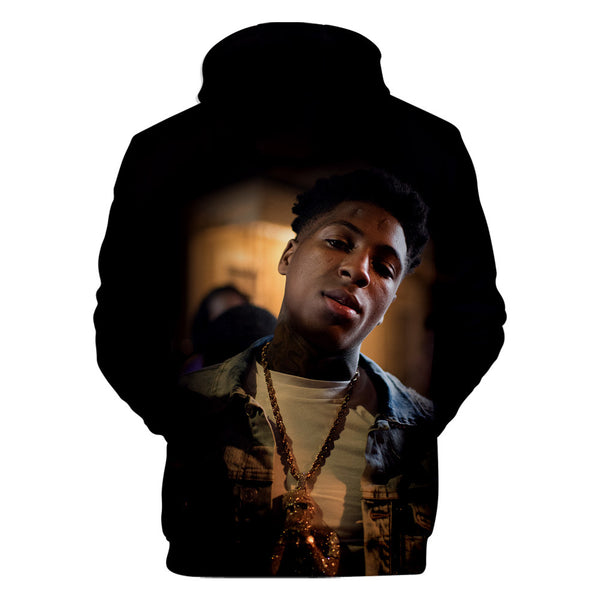YoungBoy Printed Hoodie Unisex Never Broke Again Sweatshirt