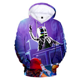 Funny Marshmellow Basic Hoodie Boys Novelty Sweatshirt