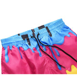Men's Beachwear Summer Holiday Swim Trunks Quick Dry Striped