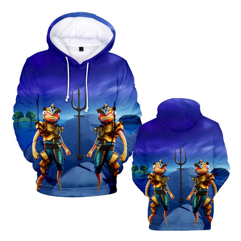 Atlantean Fishstick Hoodie Cool Halloween Costumes