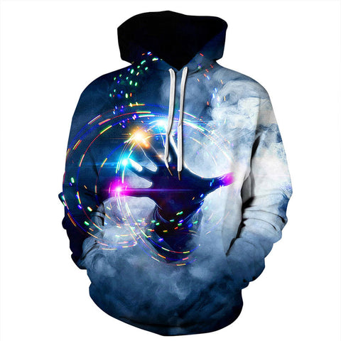 Magic hands Hoodies 3D Painted Sweatshirt