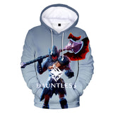 Unisex Youth 3D Dauntless Game Printed Hooded Sweatshirt