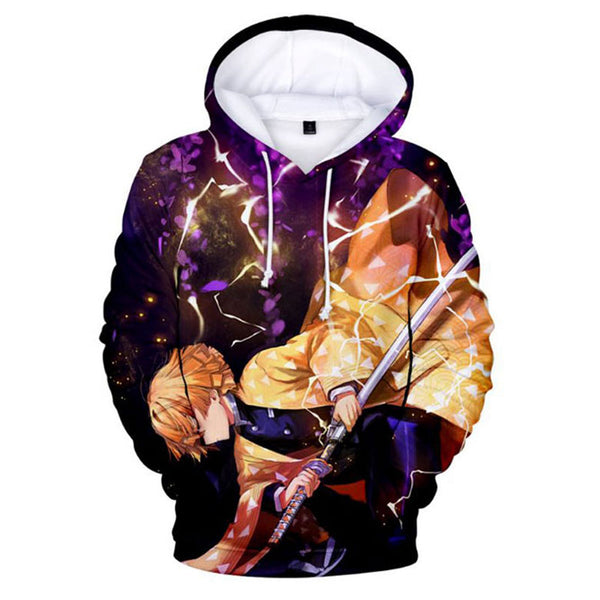 Unisex Demon Slayer Hoodie Sweatshirt Pullover