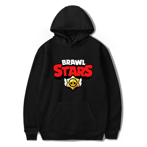 Brawl Stars Hoodie Unisex Hooded Sweatshirt for Youth