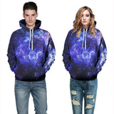 Gorgeous Unique Galaxy 3D Pullover Sweatshirts Hoodies