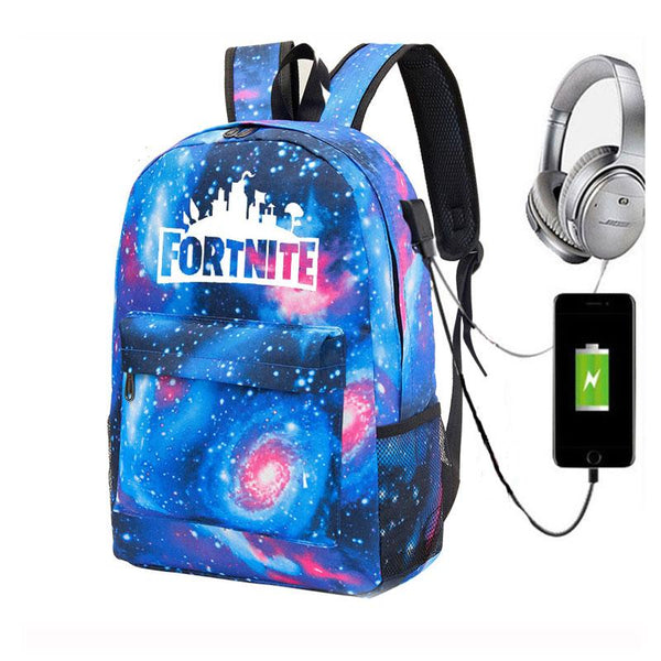 Fortnite Backpacks Student School Bags Computer bag shoulder travel bag