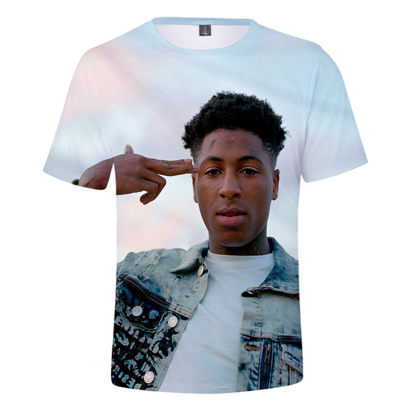 YoungBoy 3D Printed T-Shirt Never Broke Again Tee