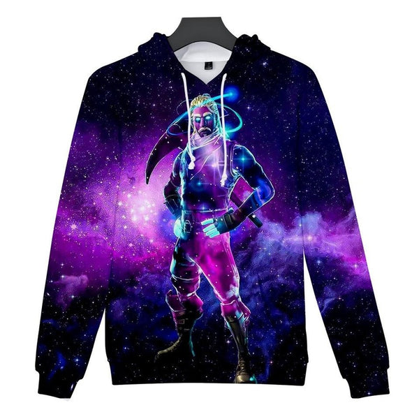 Galaxy Skins Fortnite Hoodies Pullover Sweatshirt