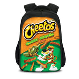 Cheetos School Backpack Kids Schoolbag for Teenagers and Students