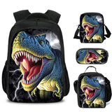 Kids Dinosaur Backpacks Animal Print Backpack for Kindergarten Boys Girls