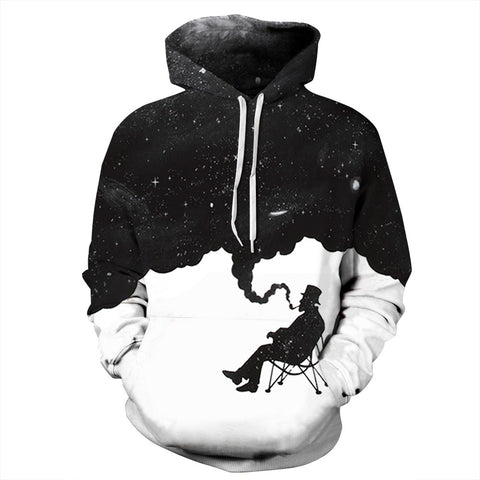 Smoking harm knowledge Theme 3D Printed hoodie Sweatshirt