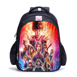 Stranger Things Backpack Kids School Book Bag