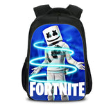 Kids Fortnite Marshmello Backpack School Bag