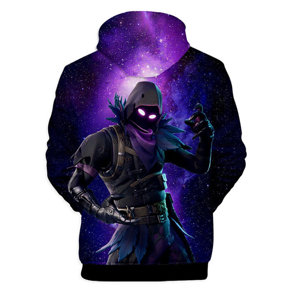 Fortnite Print Hoodie For Kids