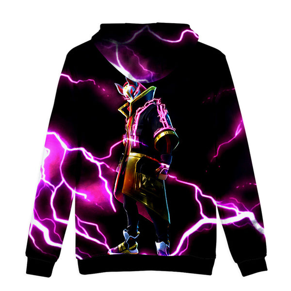 Youth Fortnite Print Hoodie