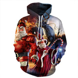 Cute Santa Claus Hoodies Christmas Sweatshirts