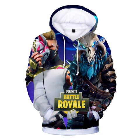 Fornight Print Hoodie For Youth