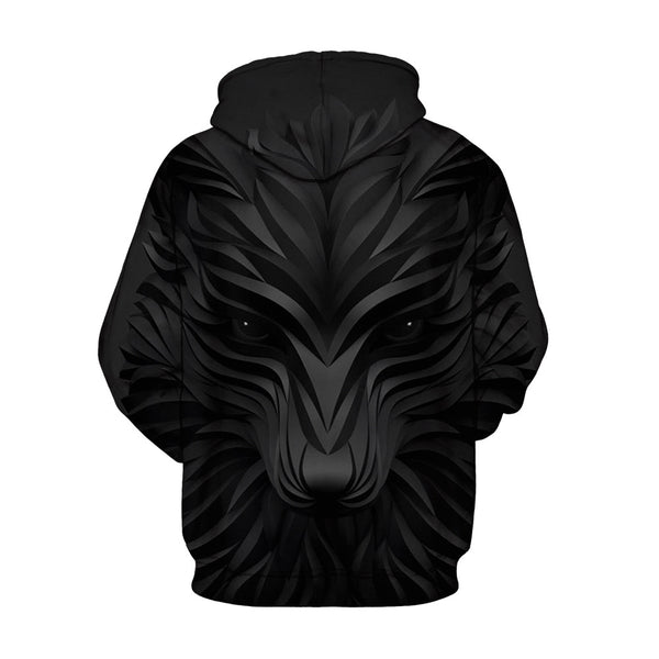 Lightweight Pullover Casual Style Unisex 3D Painted Hoodie