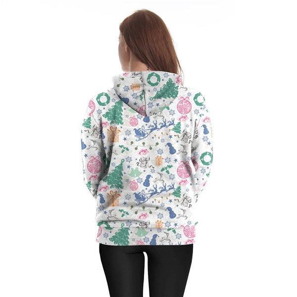 Christmas Mix Theme 3D Printed Hoodie Sweatshirt Pullover