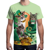 Unisex St. Patrick's Day T-Shirt Irish Costume Short Sleeve