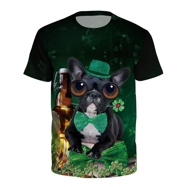 St. Patricks T-Shirt Irish Tee Soft Cotton Tshirt