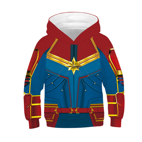 Youth Hoodie Avenger Captain Hood Sweatshirt