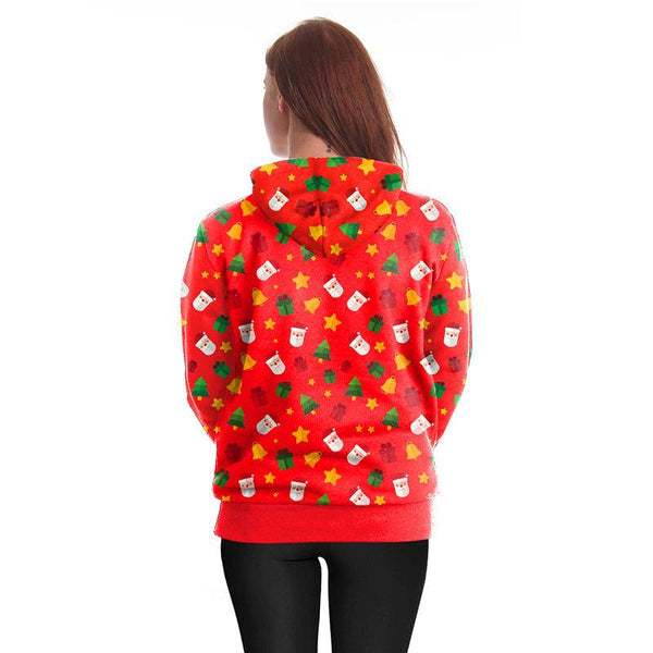 Christmas Traditional 3D Printed Hoodie Sweatshirt Pullover