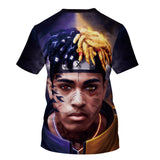 T Shirt Xxxtentacion Shirt Tops Short Sleeves Summer T-Shirts
