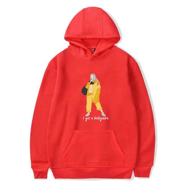 Billie Eilish Clothing Billie Eilish Fashion Printed Hoodies
