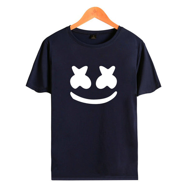 Youth Marshmello T Shirts Unisex Short Sleeve Tops T-Shirt