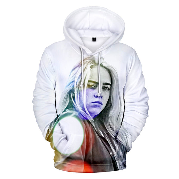 Casual Hoodies Billie Eilish Pullover Sweatshirt