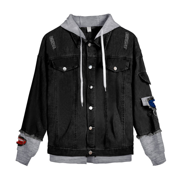 Lil Peep Crybaby Denim Jacket Cotton Jean Coat