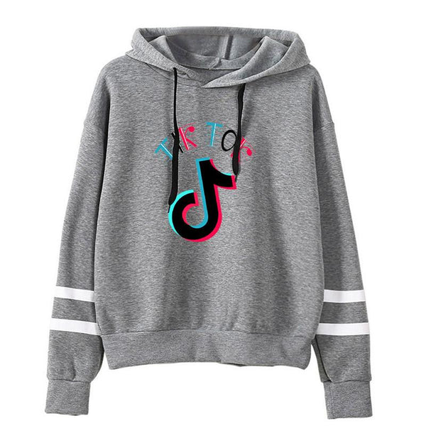 TIK TOK Hoodie Fashion Casual Music Fans Sweatshirt