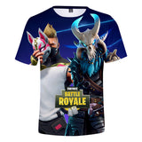Youth Fornight Shirt 3D Print Kids Fortnite Tshirt