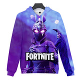 Pullover Sweatshirt Unisex Fortnite Game Hoodie