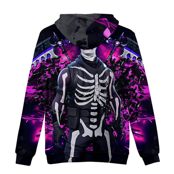 Fortnite Hoodies  3D Print Casual Spring Sweatshirt