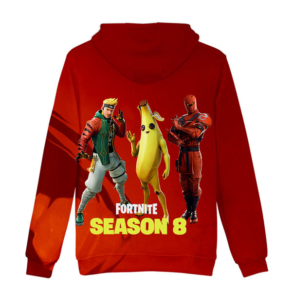 Fortnite Battle Royal HYBRID MasterKey Printed Sweatshirt Outfits