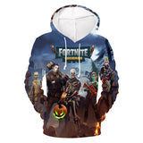 Fortnite hoodie Zombie Cauchemars 3D Painted Sweatshirt