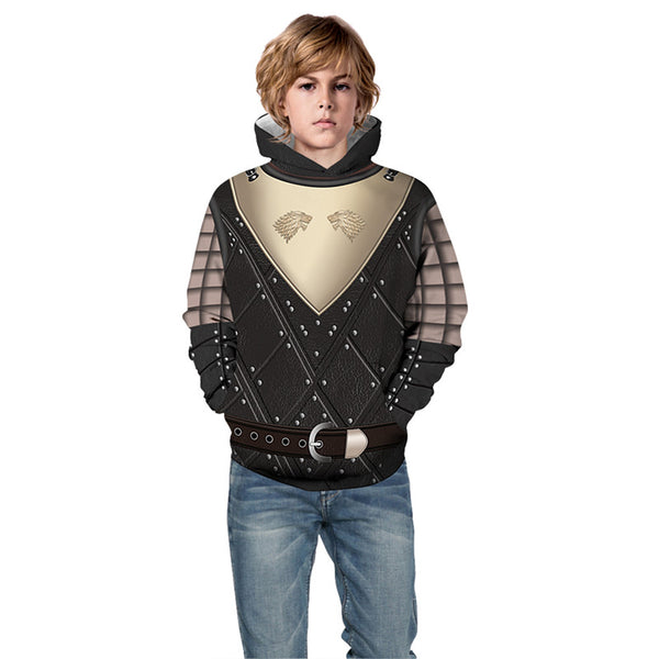 Game of Thrones 3D Pullover Hoodie for Kids
