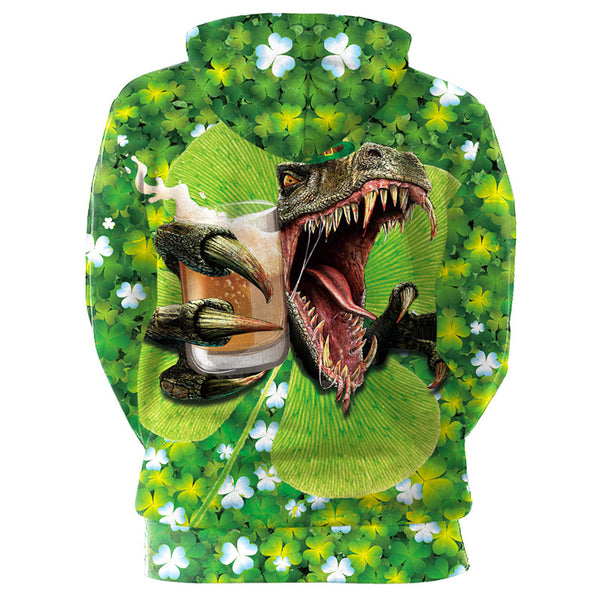 Irish Costume St. Patrick's day Green 3D Print Hoodies