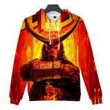 Fashion Hellboy Reveals Mans Hoodie