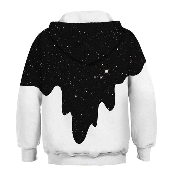 Teen Kids Novelty Animal Galaxy Hoodies Sweatshirts Pullover 4-13Y