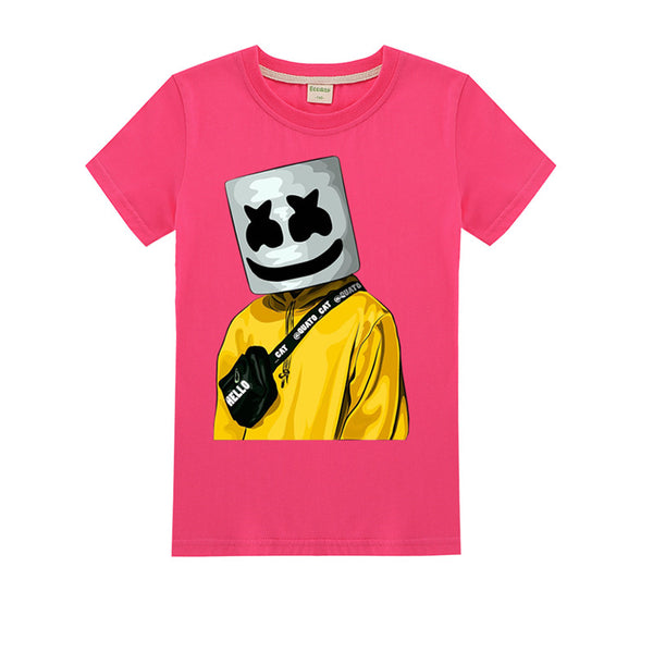 Marshmello Dj Music Clothes for Big Kids
