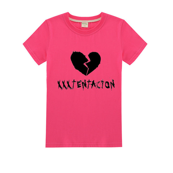 Kids Xxxtentacion Cotton Shirt Summer T shirt 4-14T