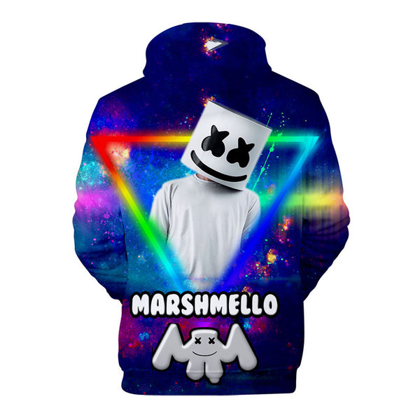 Unisex DJ Marshmello Hoodie Fashion Popular Sweatshirt