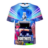 Print Tee 3D Marshmello Face Short Sleeves