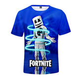 Marshmello Tee Short Sleeves Marshmallow 3D T-shirt