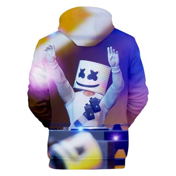Cool Hoodies  Marshmello Concert Hooded Sweatshirt